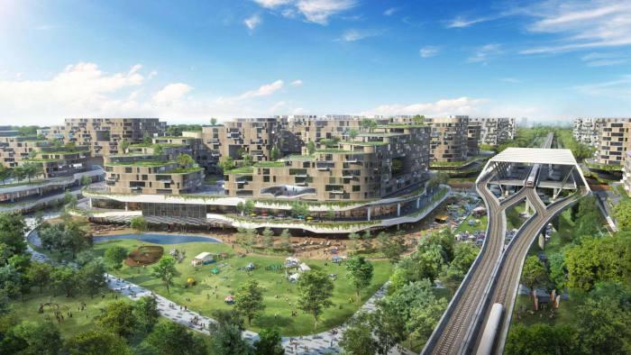 """โปรเจค """"เมืองอัจฉริยะ"""" (Smart City)เป็นมิตรต่อสิ่งแวดล้อม ของสิงคโปร์"""